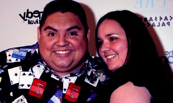 Image of Claudia Valdez with her husband Gabriel Iglesias