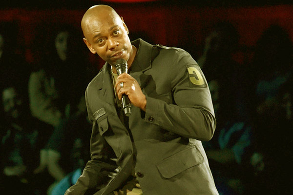 Image of American stand-up comedian, Dave Chappelle