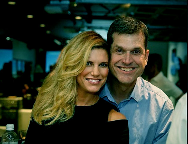 Image of Sarah married Jim Harbaugh since 2008