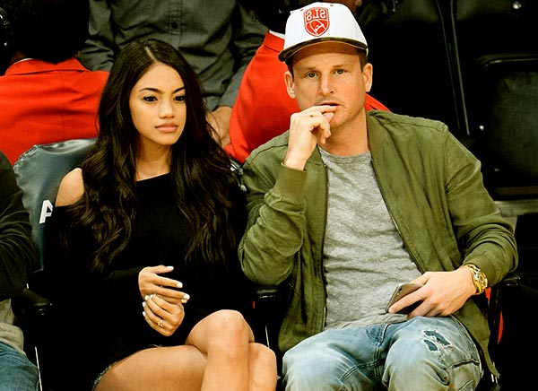 Image of Caption: Bryiana Noelle Flores with her husband Rob Dyrdek