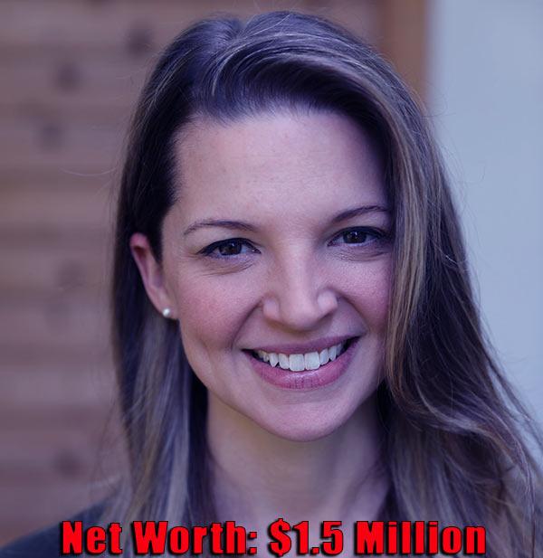 Image of Therapist, Hallie Gnatovich net worth is $1.5 million