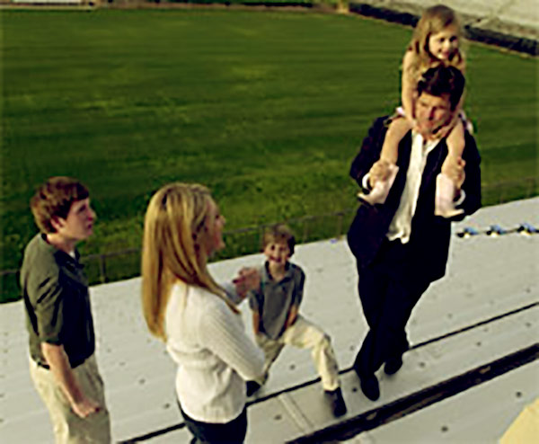 Image of Miah & Jim Harbaugh Family Day Out