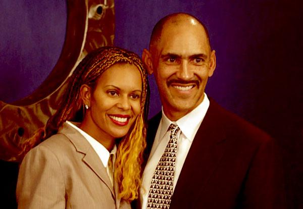 Image of Tony Dungy's wife, Lauren Harris