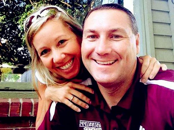 Image of Dan Mullen's wife, Megan Mullen