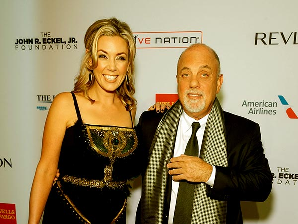 Image of Alexis Roderick with her husband Billy Joel