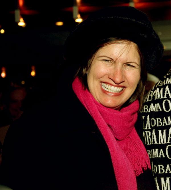 Image of Caption: Volunteer worker, Eve Schiff