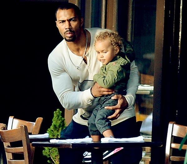 Image of Caption: Jennifer Pfautch husband with his late son