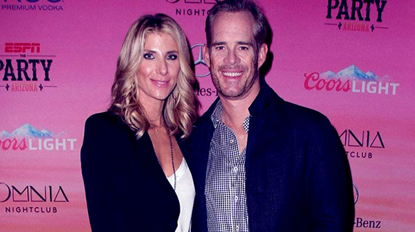 Image of Caption: Michelle Beisner husband Joe with his ex-wife Ann Archambault Buck