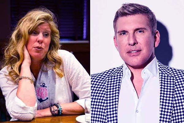 Image of Caption: Teresa Terry and her ex-husband Todd Chrisley