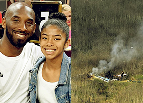 Image of Caption: Vanessa Laine husband Kobe Bryant and daughter Gianna Maria died in helicopter crash on 26th January 2020