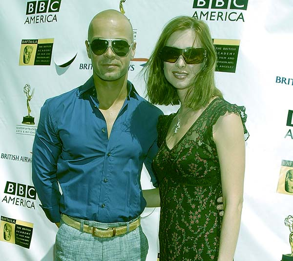 Image of Caption: Chandie Yawn-Nelson with her husband Joey Lawrence