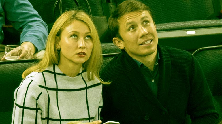 Image of Gennady Golovkin's wife, Alina Golovkin's Biograpy and 7 Facts.