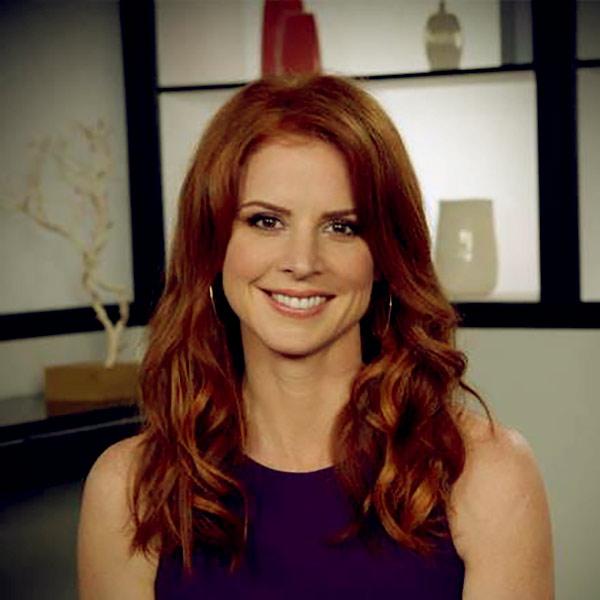 Image of American actress, Sarah Rafferty