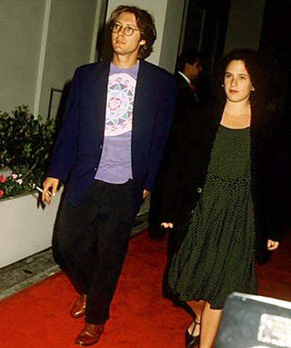 Image of Victoria with her ex-husband James Spader