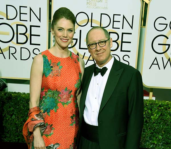 Image of James Spader with Leslie Stefanson