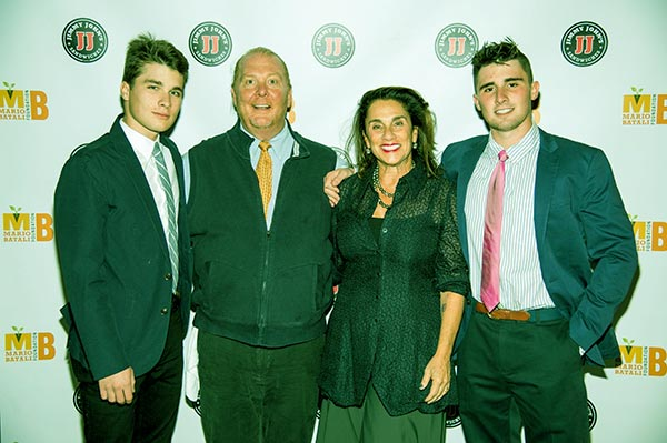 Image of Caption: Susi with husband Mario and kids Leo and Benno Cahn