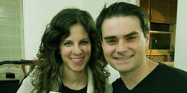 Image of Mor Shapiro wtih her husband Ben Shapiro
