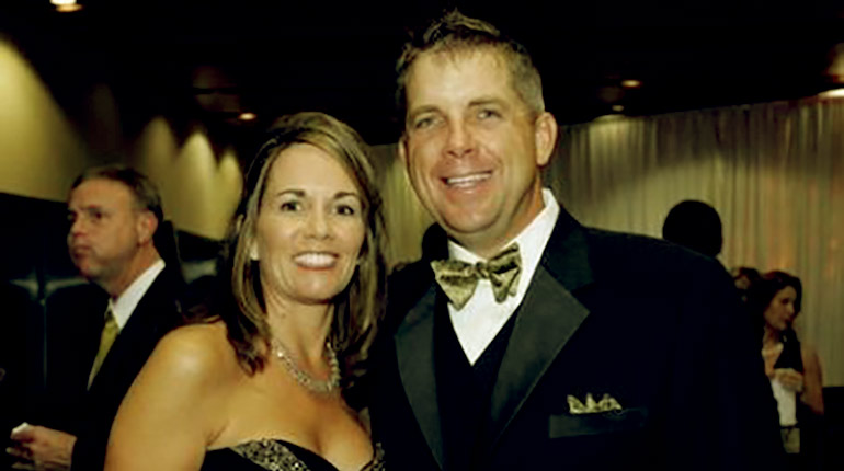 Image of Beth Shuey (Sean Payton's ex-wife) Age, Net worth, wiki facts.
