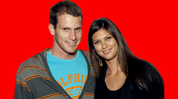 Image of Carly Hallam with her husband Daniel Tosh