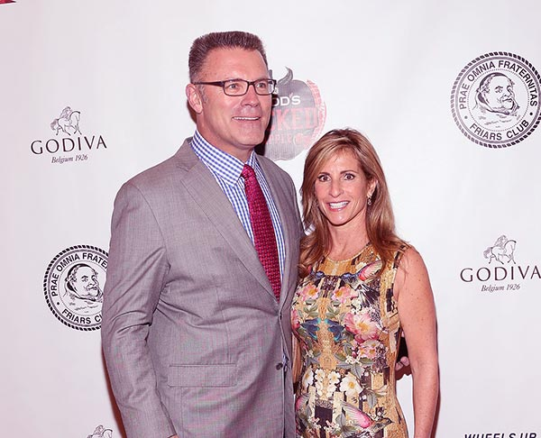 Image of Diane Addonizio with her husband Howie Long