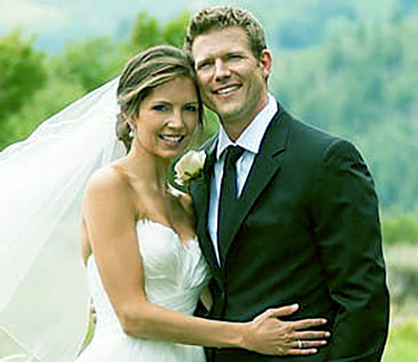 Image of Caption: Dr.Charlotte Brown with her ex-husband Dr. Travis Lane Stork