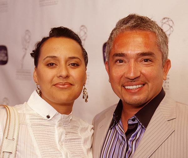Image of Ilusion Millan with her ex-husband Cesar Millan