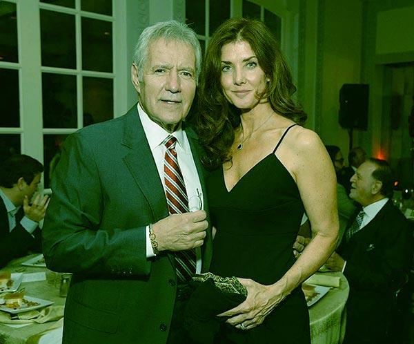 Image of Jean Currivan with her husband Alex Trebek