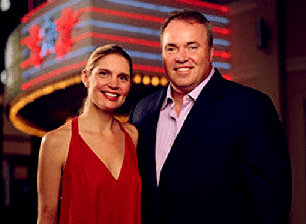 Image of Jessica Kress with her husband Mike McCarthy