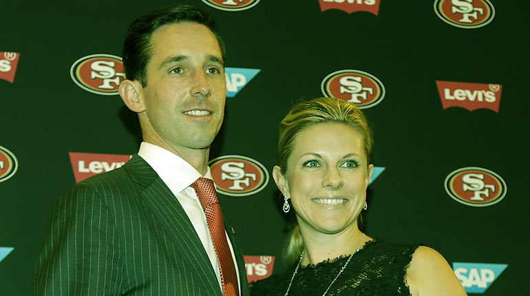 Image of Mandy Shanahan [Kyle Shanahan's Wife] wiki-7 Facts biography. (and their children.)