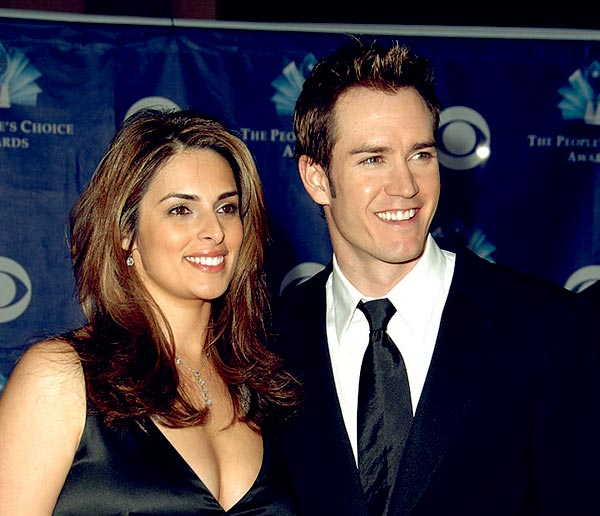 Image of Lisa Ann Russell with her ex-husband Mark-Paul Harry