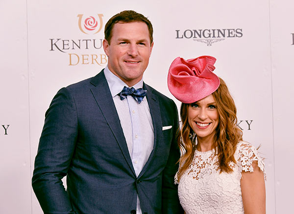 Image of Michelle Witten with her husband Jason Witten