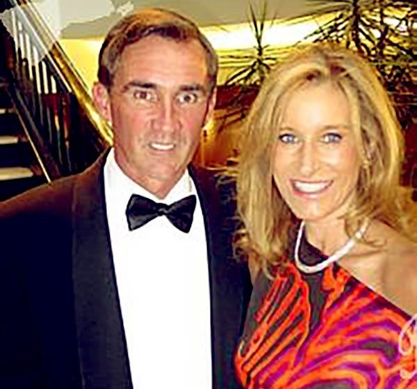 Image of Peggy Shanahan with her husband Mike Shanahan