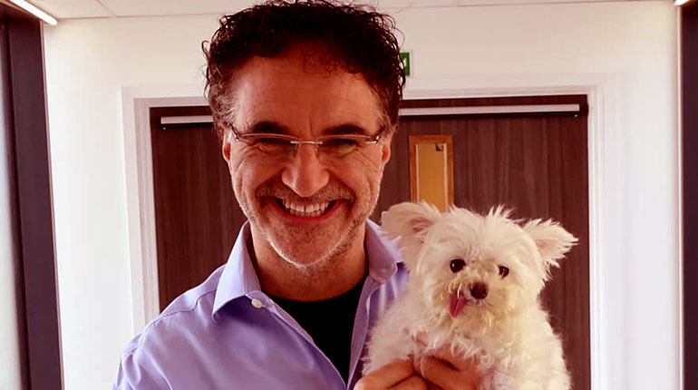 Image of Is Noel Fitzpatrick Married to a wife. Or is he gay.