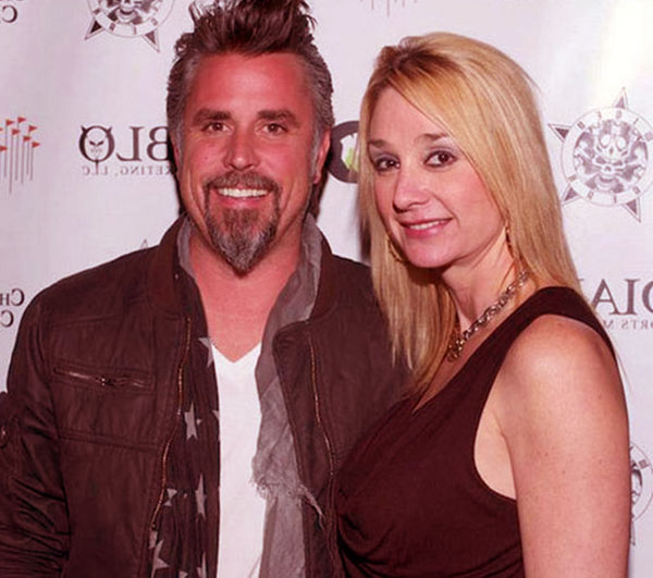 Image of Richard Rawlings with his ex- wife Suzzane Rawlings