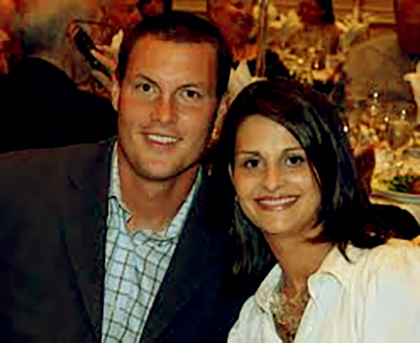 Image of Tiffany Rivers with her husband Philip Rivers