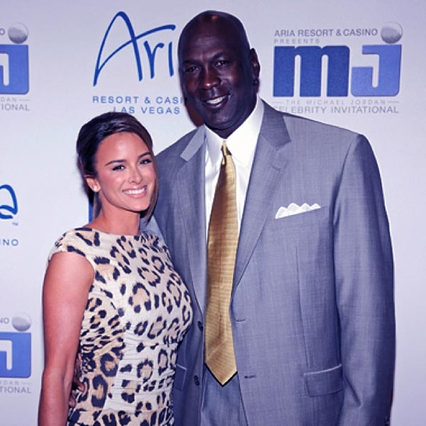 Image of Yuvette Prieto with her husband Michael Jordan