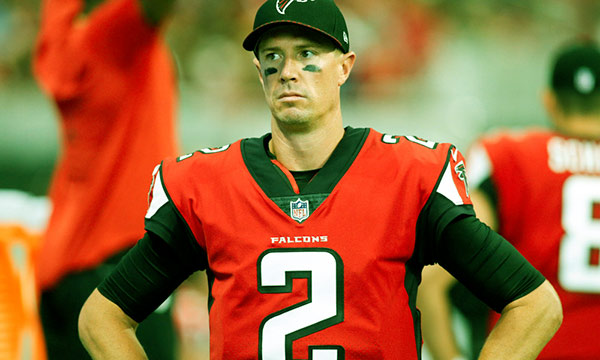 Image of American football quarterback, Matt Ryan