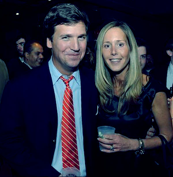 Image of Susan Andrew husband Tucker Carlson net worth