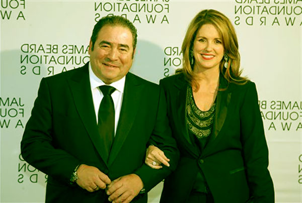 Image of Alden Lagasse with her husband Emeril Lagasse