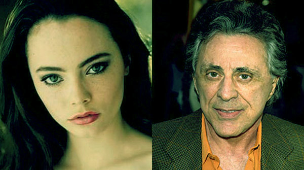 Image of Frankie Valli and his daughter Francine