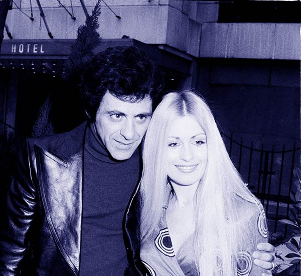 Image of Frankie Valli with his second wife MaryAnn Hannigan