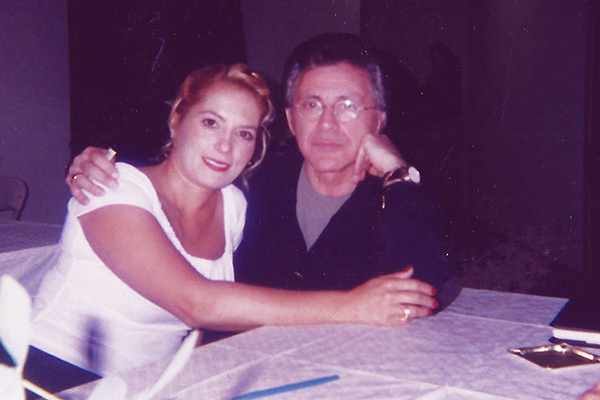 Image of Frankie Valli with his first wife Mary Mandel