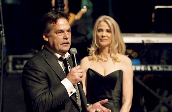 Image of Juli Fisher with her ex-husband Jeff Fisher