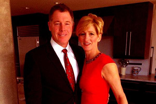 Image of Jennifer Shurmur with her husband Pat Shurmur