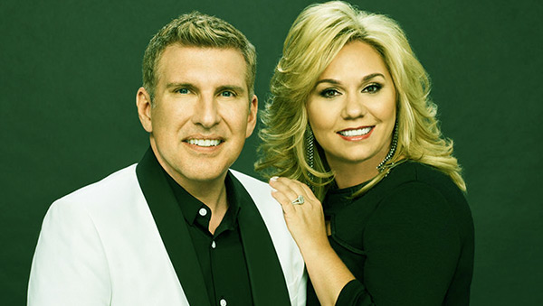 Image of Julie Chrisley with her husband Todd Chrisley