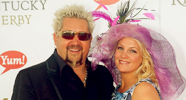 Image of Lori Fieri with her husband Guy Fieri