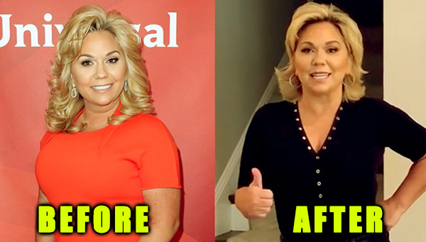 Image of Julie Chrisley weight loss before and after